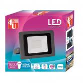 Holofote Exterior LED SMD 30W luz Neutra 4000K 4U LED