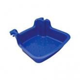 Lava piedi per scaletta piscina, blu scuro