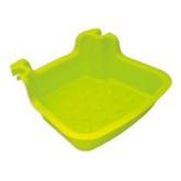 Lava piedi per scaletta piscina, verde