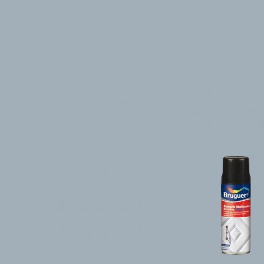 Peinture multi-usages brillant en spray Bruguer GRIS PERLE 400 ml