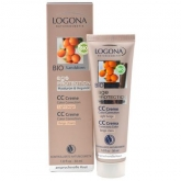 Crema color beige claro Age Protection Logona, 30ml