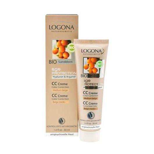 Crema color beige medio Age Protection Logona, 30ml