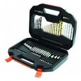 Kit de 70 piezas para taladrar y atornillar TITANIUM Black & Decker