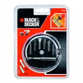 Kit de 7 pièces de vissage Black & Decker