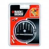 Kit di 7 pezzi per avvitare Black & Decker