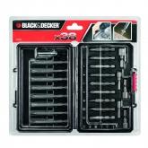 Kit di 38 pezzi per avvitare Black & Decker
