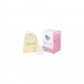 Copo menstrual Mimcacup Transparente