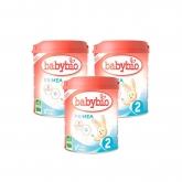 Pack 3x Latte per la continuazione nº2 Babybio, 900g