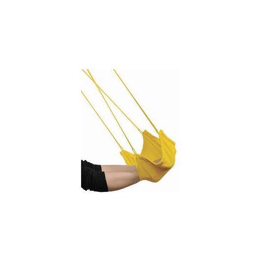 Repose-pieds pour hamac siège jaune