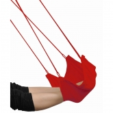 Riposa piedi per amaca sedia rosso