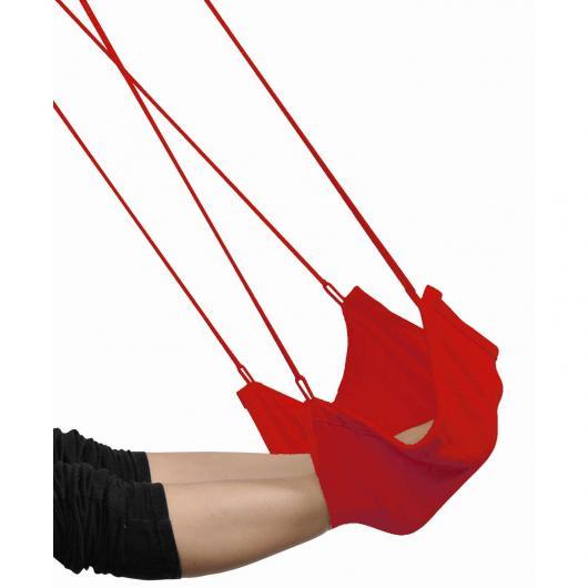 Repose-pieds pour hamac siège rouge