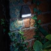 Aplique solar LED de parede
