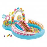 Centro de jogos Intex - Candy Zone - 295x191x130 cm