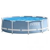 Piscina desmontável circular Intex - Prisma Frame - 457x84 cm - 11.325 litros