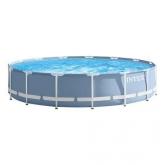 Intex piscina desmontável circular - Prisma Frame - 457x107 cm - 14.614 litros