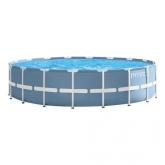 Piscina desmontável circular Intex - Prisma Frame - 549x122 cm - 24.311 litros