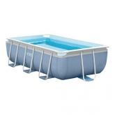 Intex piscina desmontável retangular - Quadro Prisma - 400x200x100 cm - 6.836 litros