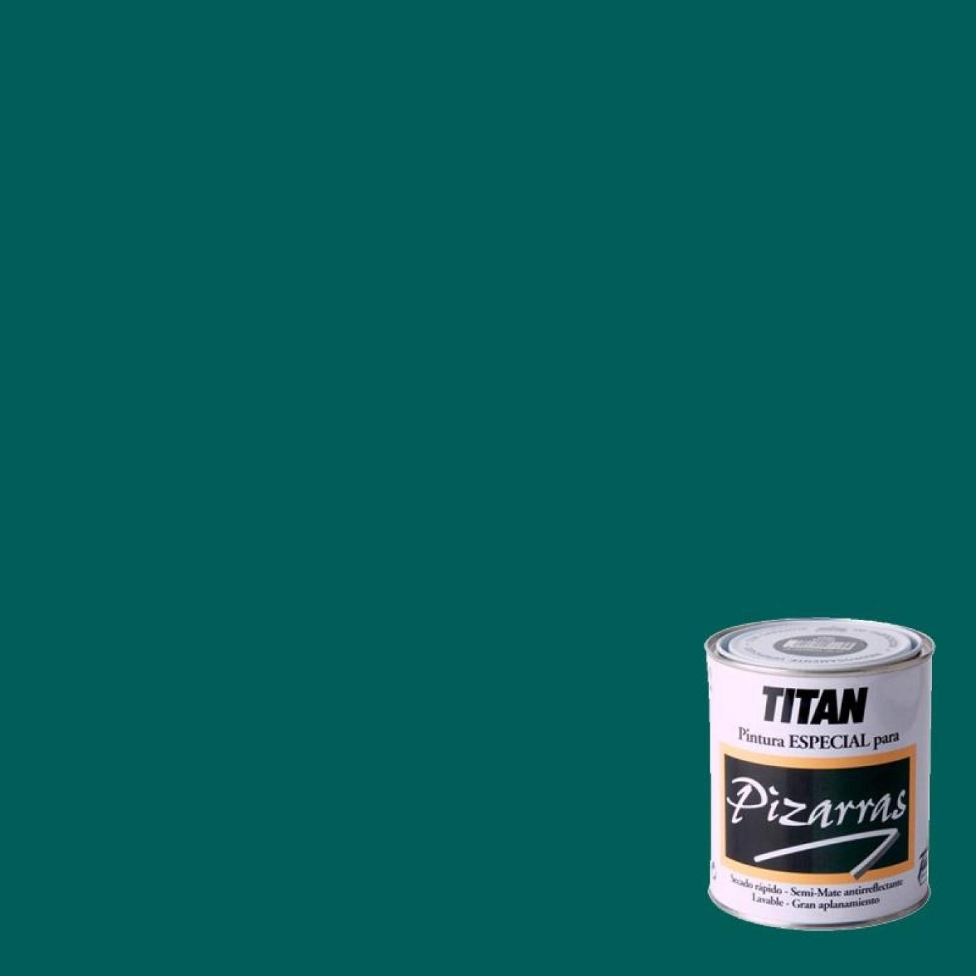 Peinture pour tableaux vert titan 750 ml par 12 96 sur for Peinture special plafond