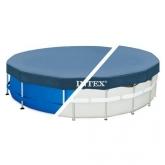 Toldo  Intex piscina metálica & prisma frame 366 cm