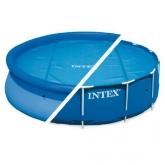 Toldo de piscina solar Intex 366 cm de diâmetro