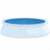 Toldo de piscina solar Intex 488 cm de diâmetro