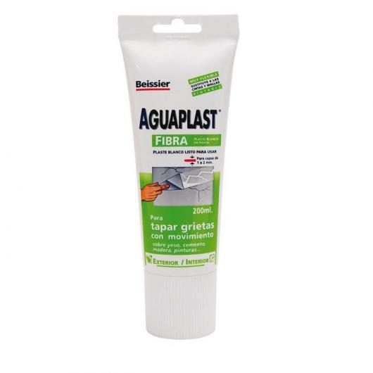 Masilla en tubo Aguaplast fibra 200 ml