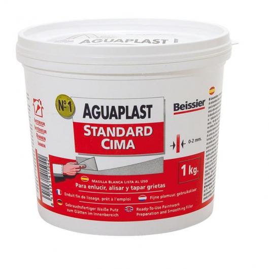 Masilla Aguaplast estándar cima 1 kg