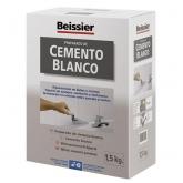 Cemento blanco aditivado para cerámica Beissier 1,5 kg