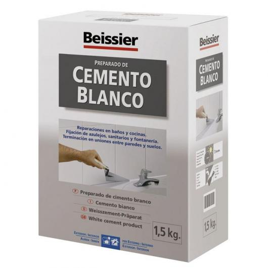 Additif ciment blanc pour céramique Beissier 1,5 kg