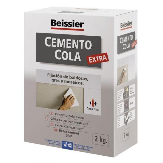Cemento cola para cerámica Beissier 2 kg
