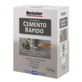Cemento rápido gris Beissier 1,5 kg