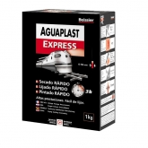 Massina Aguaplast express para interior, 1 kg