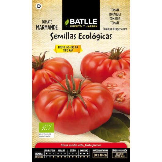 Semillas ecológicas de  Tomate marmande raf