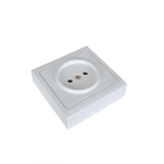 Base de enchufe Sin T/T lateral Serie 8000 Duolec