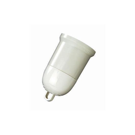 Portalampada provvisorio Bianco Duolec