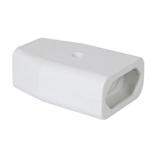Base enchufe aérea Blanco Duolec