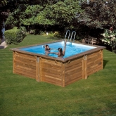 Piscina Rectangular Carra Gre 300 x 300 x 119 cm