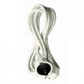 Prolungatore elettrico con spina schuko T/T laterale 3 m Duolec