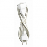 Prolungatore elettrico con spina bipolare T/T laterale 2 m Duolec