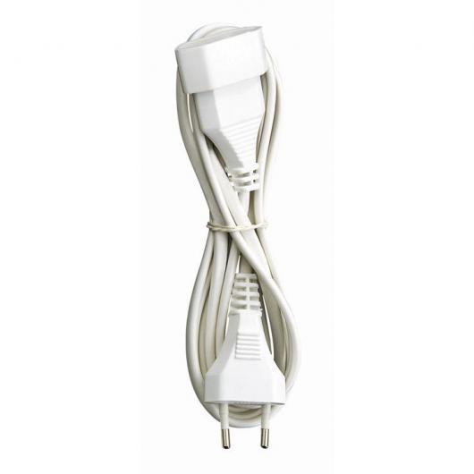 Rallonge électrique avec prise bipolaire 2 m Duolec