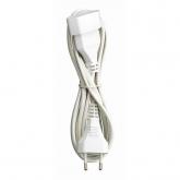 Prolungatore elettrico con spina bipolare T/T laterale 3 m Duolec