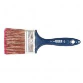 Pinceau pour peinture polypropylène bleu en polyester et poils n°18