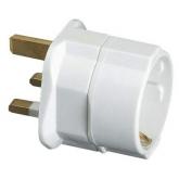 Adattatore inglese-europeo 10 A 250 V Bianco FAMATEL