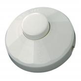 Interrupteur 10 A 250 V Duolec blanc