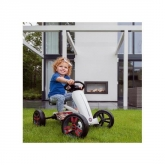 Quad infantil a pedais Berg Buzzy Modelo Fiat 500 Masgames