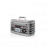 Mala de frio insuflável - rádio retro