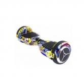 Skate elétrico Hoveboard Graffity com Bluetooth y bolsa de transporte