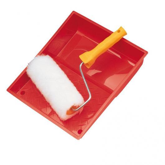 Cubeta de pintura y rodillo acrílico 18 cm EHS