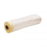 Fita crepe plástico liso Miarco,  23,5 m x 60 cm