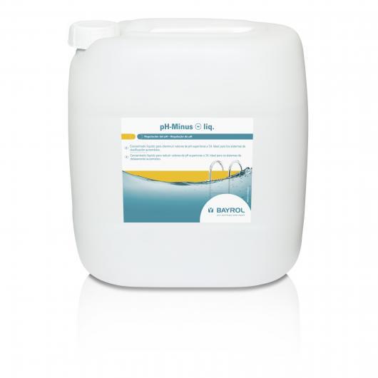 Reductor de pH 25 kg pH-Minus líquido Bayrol